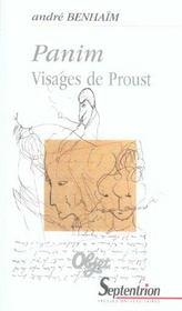 Panim Visages De Proust - Intérieur - Format classique