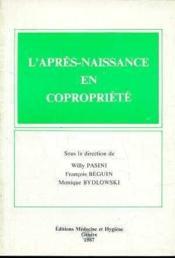 Apres Naiss Copropriete - Couverture - Format classique
