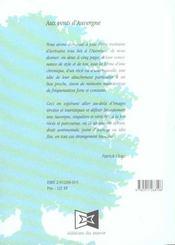 Aux vents d'auvergne - 4ème de couverture - Format classique