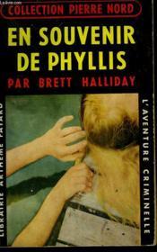 En Souvenir De Phyllis. Collection L'Aventure Criminelle N° 38. - Couverture - Format classique
