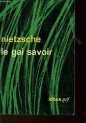 Le Gai Savoir - Couverture - Format classique