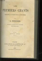Les Premier Chants Poesies A L'Usage De La Jeunesse - Couverture - Format classique