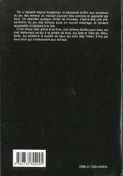 Les éches faciles pour tous - 4ème de couverture - Format classique