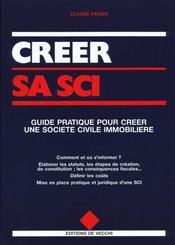 Guide Pratique Pour Creer Une Societe Civile Immobiliere - Intérieur - Format classique