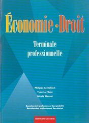 Economie droit terminale professionnelle - Intérieur - Format classique