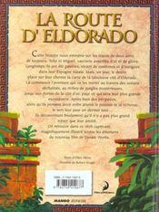 La Route D'El Dorado - 4ème de couverture - Format classique