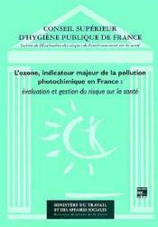 Ozone, indicateur de pollution - Couverture - Format classique