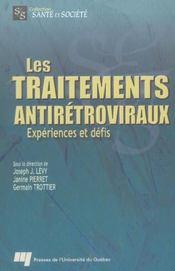 Les traitements antirétroviraux ; expériences et défis - Intérieur - Format classique