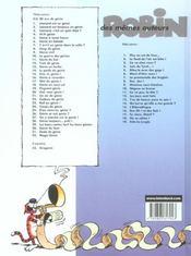 Léonard t.6 ; génie en balade - 4ème de couverture - Format classique