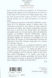 Des la modestie des femmes et des filles chretiennes dans leurs habits et dans tout leur exterieur ; 1686 - 4ème de couverture - Format classique