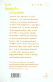 La Formation Citoyenne - 4ème de couverture - Format classique