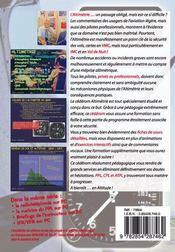 L'altimétrie - 4ème de couverture - Format classique