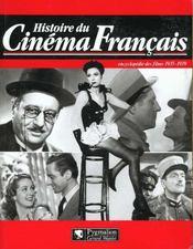 Histoire du cinema francais 1935 1939 - Intérieur - Format classique