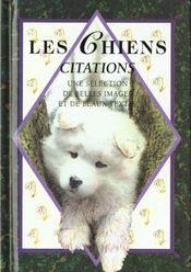 Les chiens citations - Intérieur - Format classique