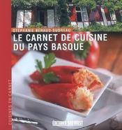 Le carnet de cuisine du pays basque - Intérieur - Format classique