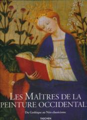 Les Maitres De La Peinture Occidentale - Couverture - Format classique