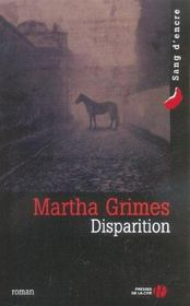 Disparition  - Martha Grimes