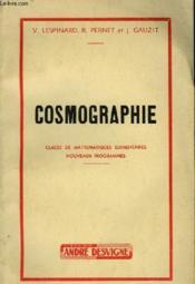 Cosmographie - Couverture - Format classique