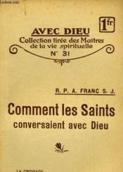 Comment Les Saints Conversaient Avec Dieu - N°31 - Couverture - Format classique