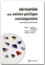 Vente livre :  Encyclopédie de la culture politique contemporaine  - Collectif