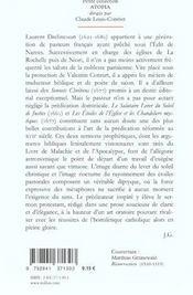 Les Etoiles De L'Eglise Et Les Chandeliers Mystiques - 4ème de couverture - Format classique