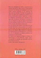 La cuisine paysanne en Rouergue - 4ème de couverture - Format classique