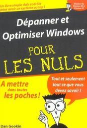 Depanner Et Optimiser Windows Xp Pour Les Nuls - Intérieur - Format classique