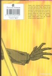 Zetman t.4 - 4ème de couverture - Format classique