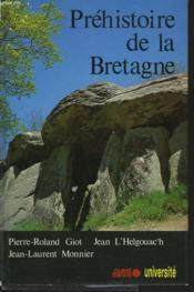 Prehistoire De La Bretagne - Couverture - Format classique