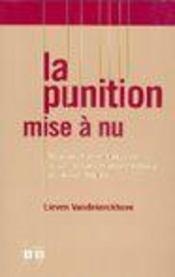 Punition Mise A Nu Penalisation Et Criminalisation Du Suicide Dans L'Europe Medievale Et D'Ancien Re - Intérieur - Format classique