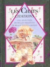 Les chats citations - Couverture - Format classique