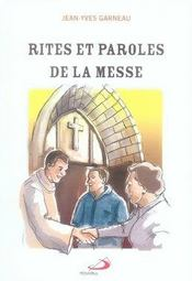 Rites et paroles de la messe - Intérieur - Format classique