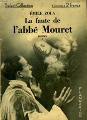 La Faute De L'Abbe Mouret. Tome 1. Collection : Select Collection N° 15 - Couverture - Format classique