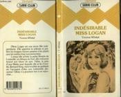 Indesirable Miss Logan - Couverture - Format classique