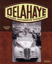 Delahaye, la belle carrosserie française - Intérieur - Format classique