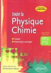 Sciences physiques MPSI ; cours et exercices corrigés - Intérieur - Format classique
