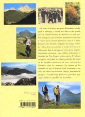 La Traversee Des Pyrenees De L'Atlantique A La Mediterranee - 4ème de couverture - Format classique