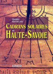 Cadrans Solaires De Haute Savoie - Couverture - Format classique
