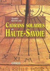 Cadrans Solaires De Haute Savoie - Intérieur - Format classique