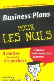 Business plans pour les nuls - Intérieur - Format classique