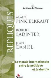 La morale internationale entre la politique et le droit - Intérieur - Format classique