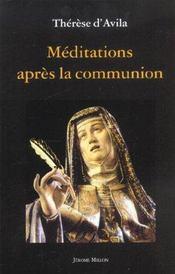 Meditations Apres La Communion - Intérieur - Format classique