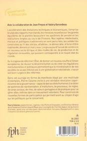 La Democratie En Miettes ; Pour Une Revolution De La Gouvernance - 4ème de couverture - Format classique