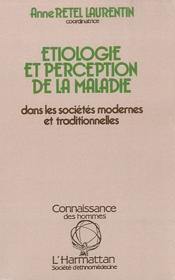 Etiologie Et Perception - Couverture - Format classique