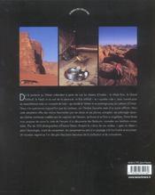 Peuples des deserts d'arabie - 4ème de couverture - Format classique