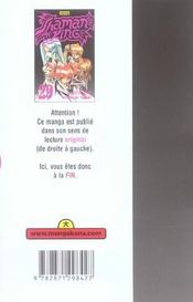 Shaman King T29 - 4ème de couverture - Format classique