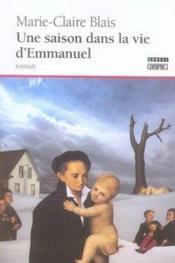 Une saison dans la vie d'emmanuel - Couverture - Format classique
