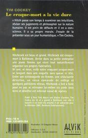 Le Croque-Mort A La Vie Dure - 4ème de couverture - Format classique