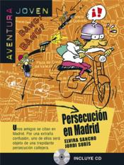 Persecucion en madrid + cd - Couverture - Format classique