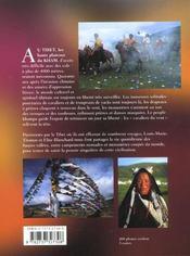 Tibet, Les Cavaliers Du Vent - 4ème de couverture - Format classique